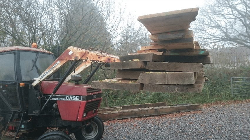 Dorset Oak Timber Supplies Planed